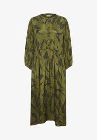 Kaffe - KADARLY - Robe d'été - capulet olive feather print - 4