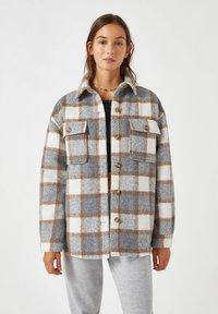 PULL&BEAR - Summer jacket - grey - 0