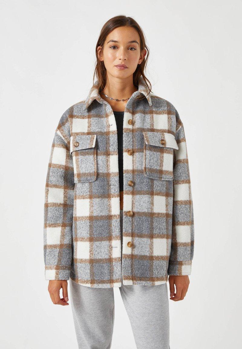 PULL&BEAR - Summer jacket - grey