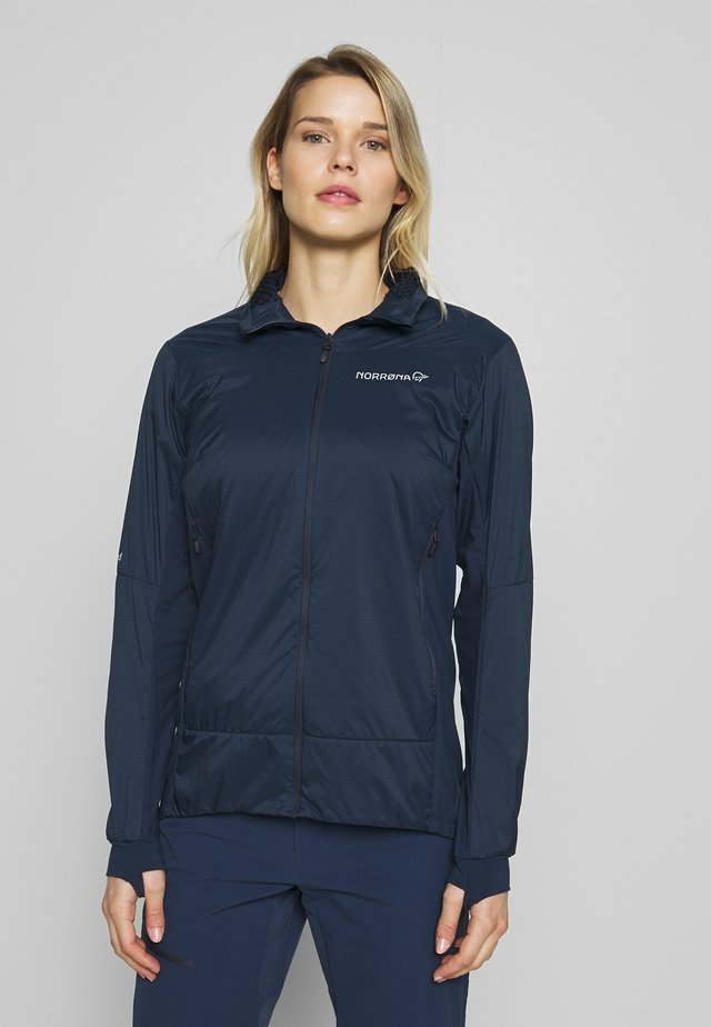 FALKETIND OCTA JACKET - Outdoorjas - indigo night