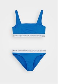 Calvin Klein Swimwear - BRALETTE SET - Bikini - blue - 0