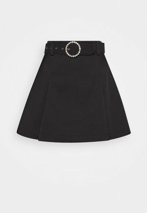 ROMYCRAS SKIRT - Mini skirt - black