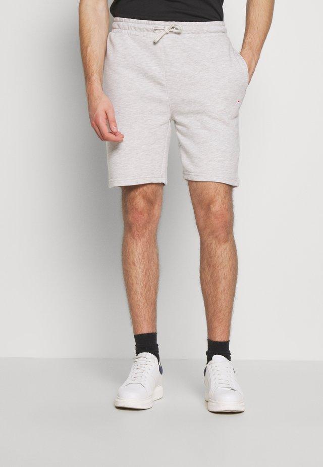 ELDON - Teplákové kalhoty - light grey melange