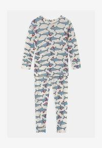 GAP - TODDLER BOY XMAS - Pyjama set - ivory frost - 0
