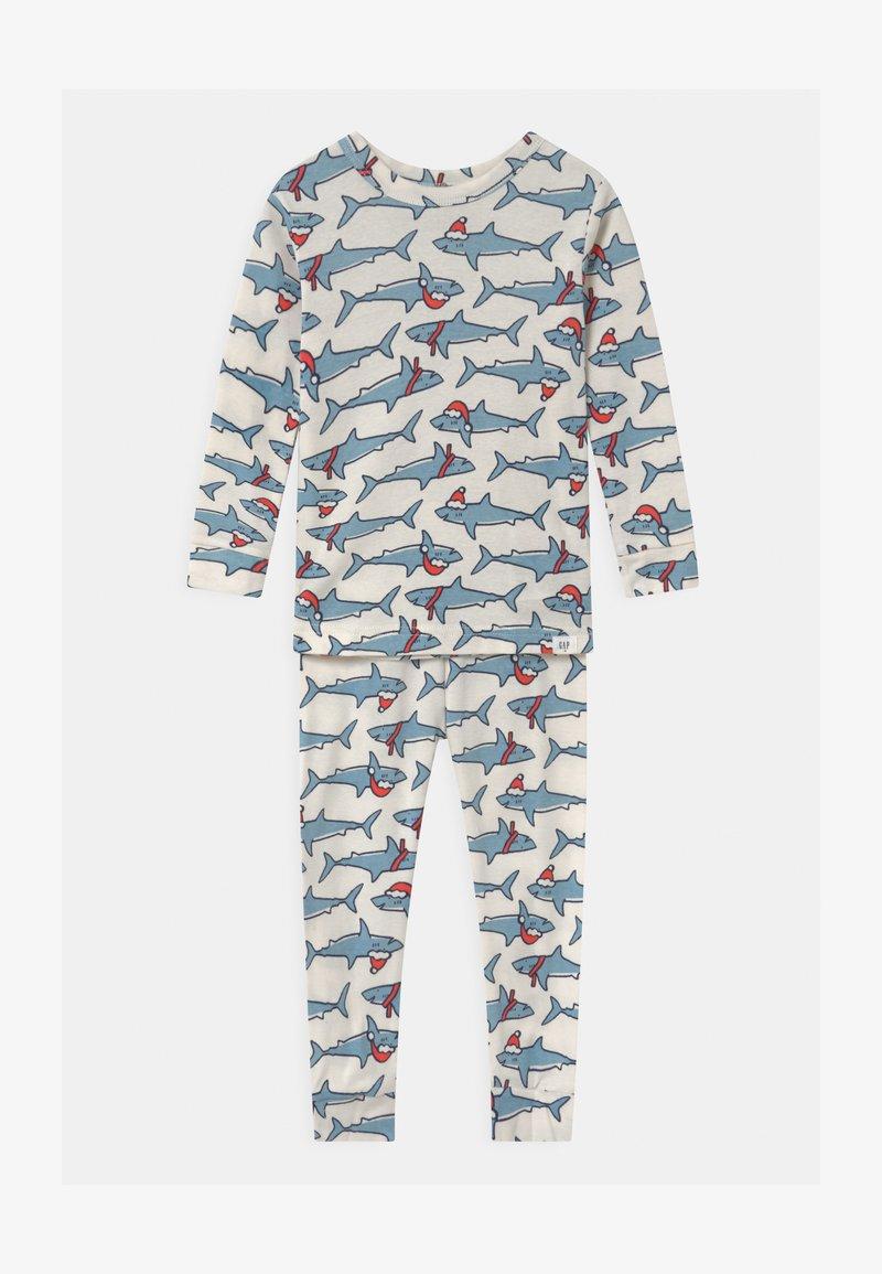 GAP - TODDLER BOY XMAS - Pyjama set - ivory frost