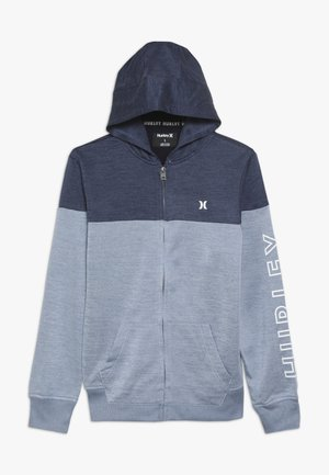 SOLAR ZIP FRONT HOODIE - Sweatjakke /Træningstrøjer - delft heather