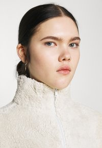 Nly by Nelly - HALF ZIP - Fleece jumper - offwhite turtledove - 3
