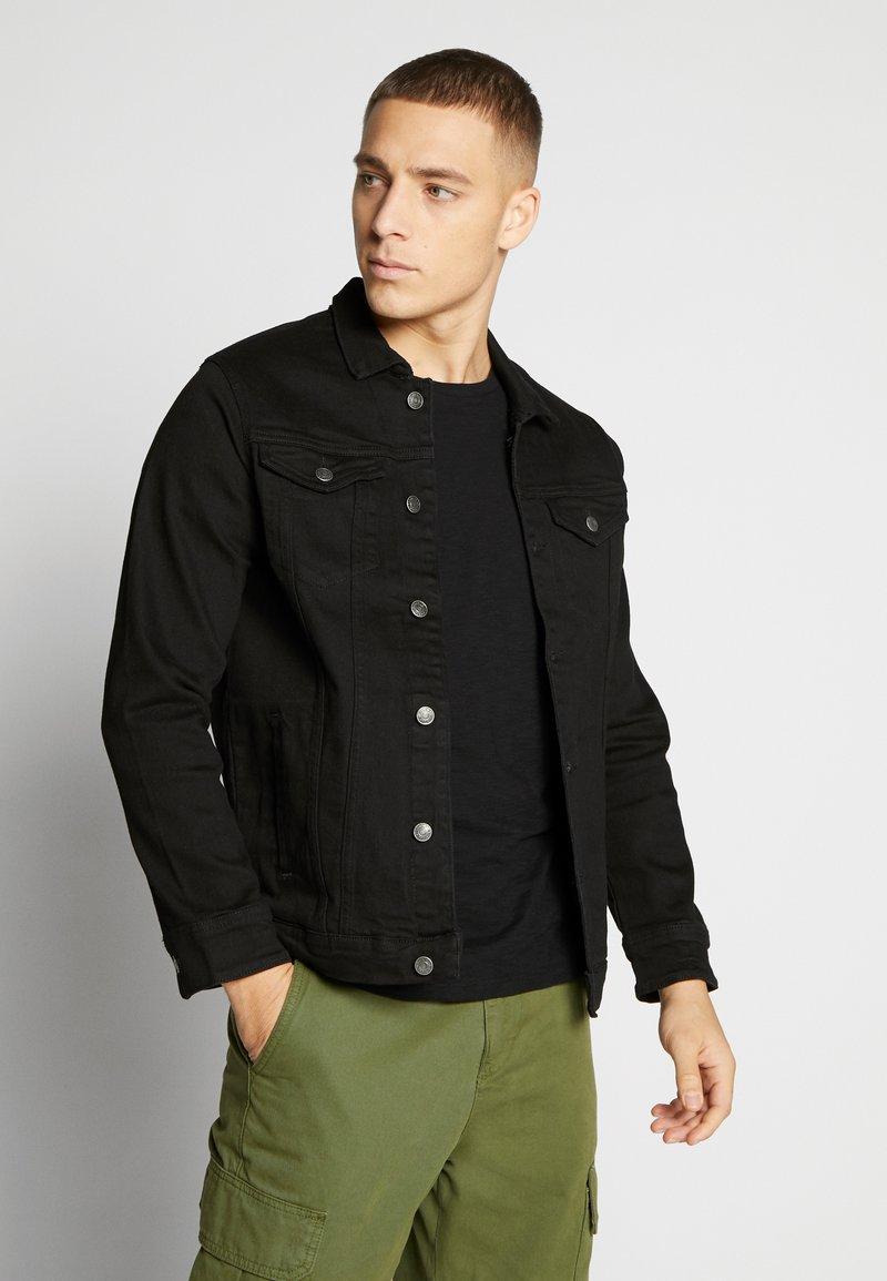 Denim Project - KASH JACKET - Denim jacket - black dot