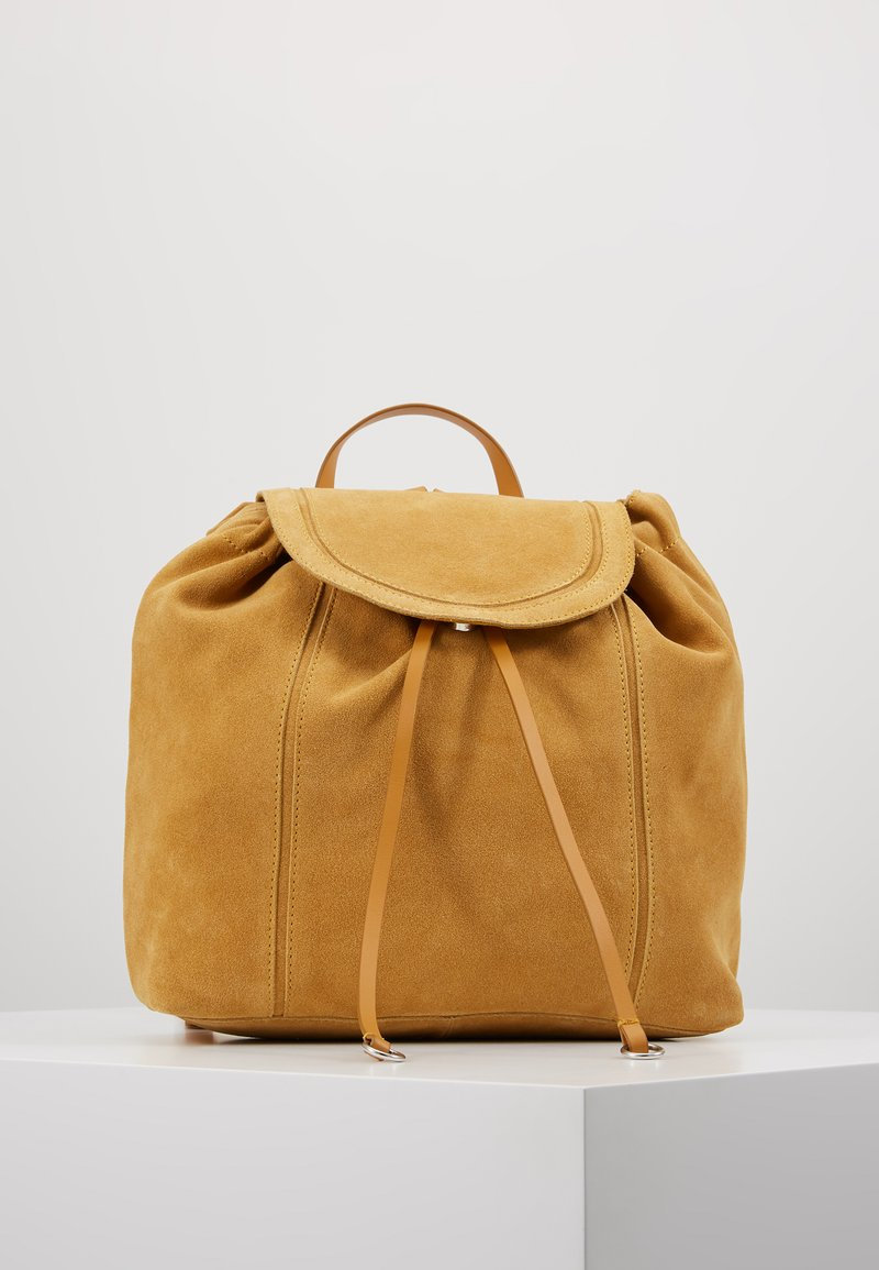 Even&Odd - LEATHER - Reppu - mustard
