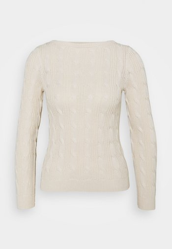 AJANON - Sweter - mascarpone cream