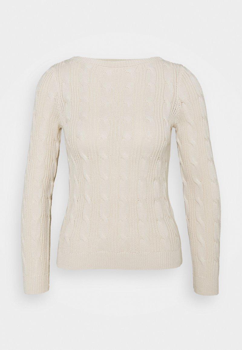 Lauren Ralph Lauren Petite - AJANON - Sweter - mascarpone cream