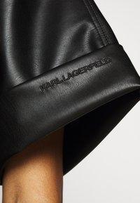 KARL LAGERFELD - CARGO - Button-down blouse - black - 5