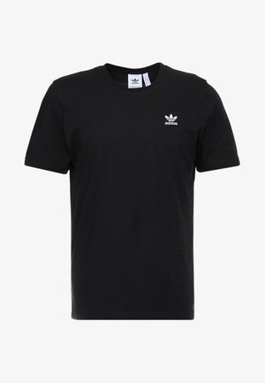 ADICOLOR ESSENTIAL TEE - Print T-shirt - black