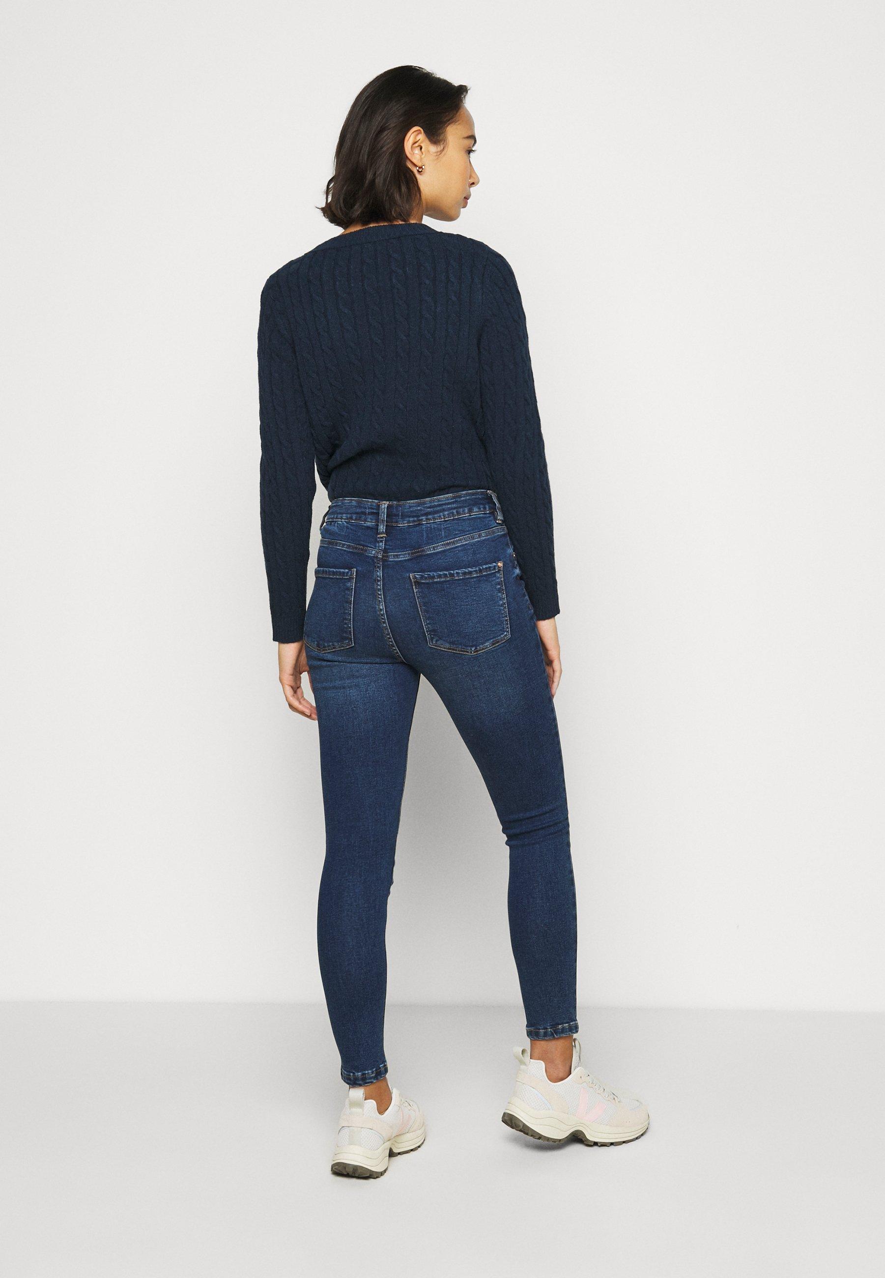 Dorothy Perkins Petite ALEX - Jeans Skinny Fit - indigo - Women's Clothing yM7RT