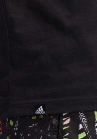 adidas Performance - HARDEN LOGO T-SHIRT - Print T-shirt - black - 4