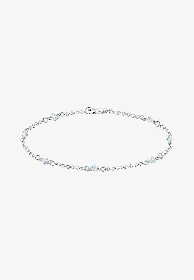 GLASS CRYSTAL  - Armband - white