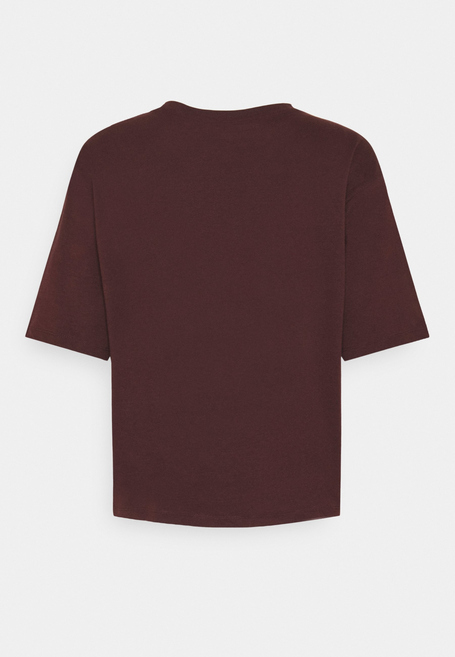 Pieces Pcrume Tee - T-shirts Med Print Decadent Chocolate/mørkebrun