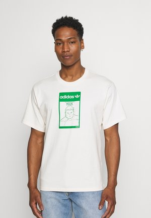 TEE HULK UNISEX - Print T-shirt - off-white