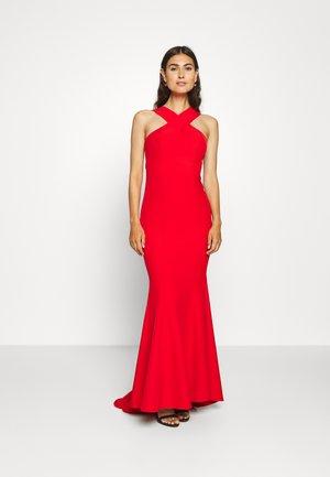 CLAUDIE - Vestido de fiesta - red