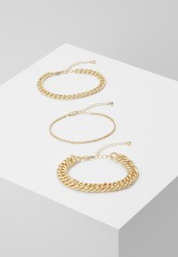 Pieces - PCCHAIN BRACELET 3 PACK - Armbånd - gold-coloured - 0