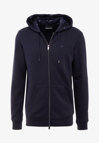 Emporio Armani - FELPA - Zip-up hoodie - blu - 3