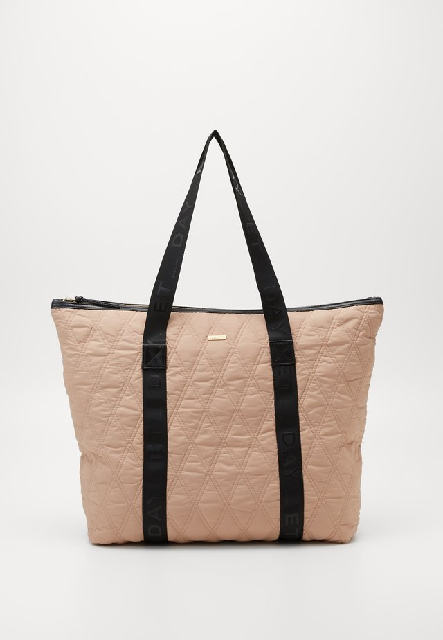 DIAMOND BAG - Shopping bags - brush beige