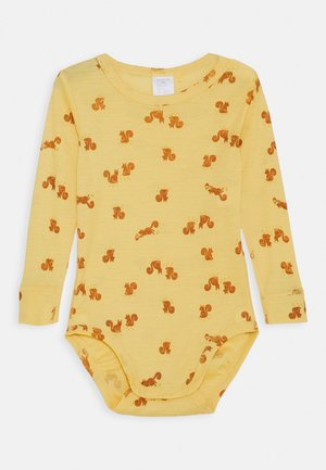 BABY WOOL PRINT UNISEX - Body - dusty yellow