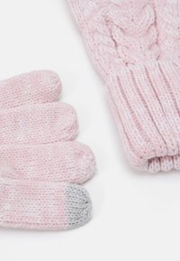 GAP - CABLE UNISEX - Gloves - pink standard - 1
