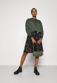 Vero Moda - VMGALLIE DRESS - Shirt dress - black - 1