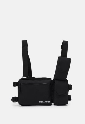 JACZAYN SMALL GILLETBAG - Ledvinka - black