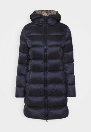 Down coat - navy blue/dark steel
