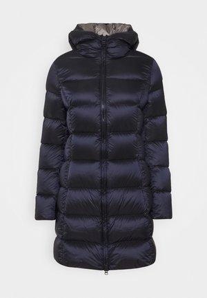 Kabát zprachového peří - navy blue/dark steel