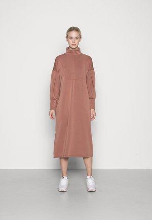 COMO ZIP DRESS ICON - Day dress - cognac