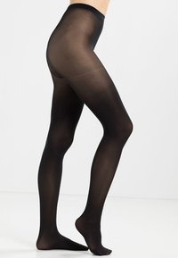 Pieces - PCNEWNIKOLINE 2 PACK - Tights - black - 1