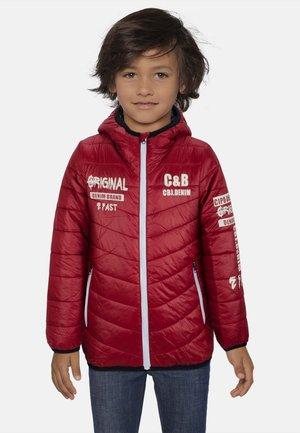 Winter jacket - burgunder