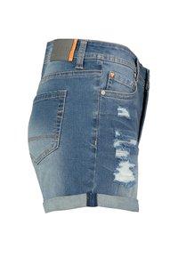 Sublevel - Denim shorts - dark-blue - 1
