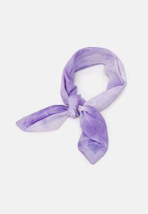 ON THE RUN TIE DYE BANDANA UNISEX - Chusta - lilac