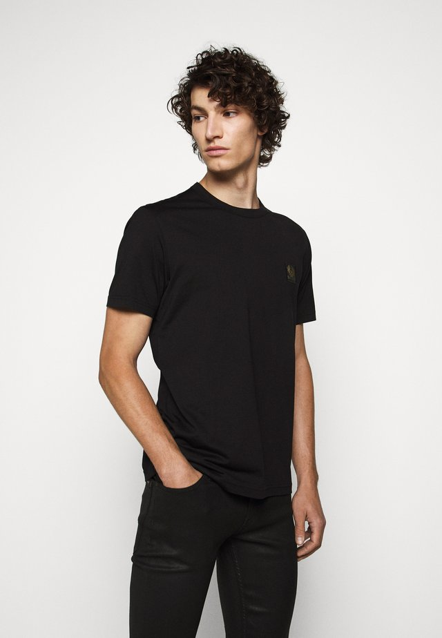 SHORT SLEEVED - Basic T-shirt - black