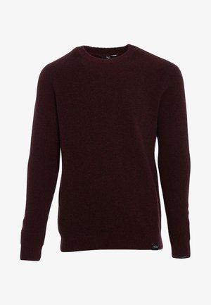 GLENDAL SWEATER - Sweatshirt - cabernet