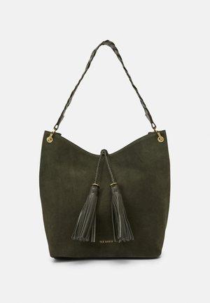 PAILA BRAIDED STRAP - Handbag - khaki