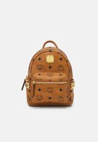 MCM - STARK BACKPACK MINI - Sports bag - cognac - 0