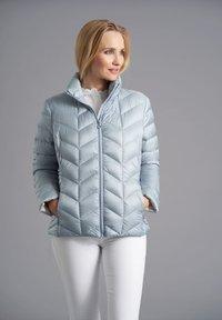 Junge - Down jacket - dove blue - 0