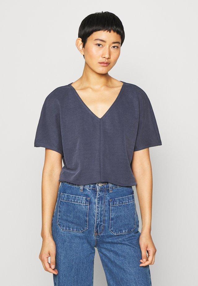 T-shirt basique - dark steel blue