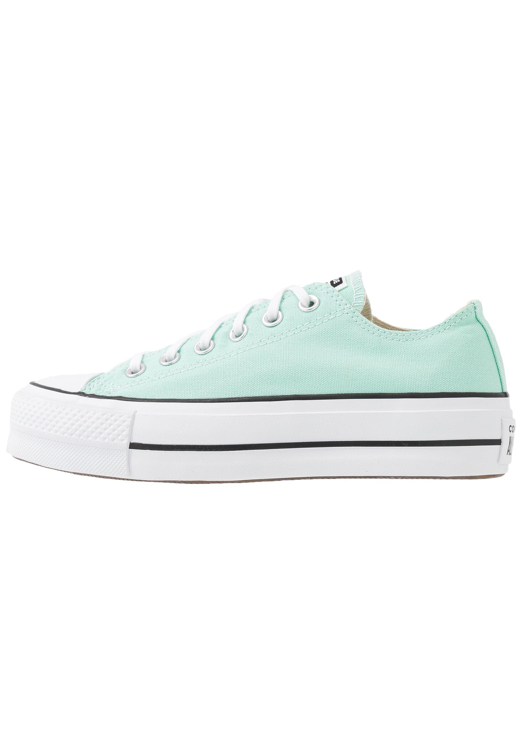 CHUCK TAYLOR ALL STAR LIFT SEASONAL - Sneakers basse - ocean mint/white/black