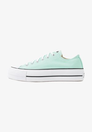 CHUCK TAYLOR ALL STAR LIFT SEASONAL - Sneaker low - ocean mint/white/black