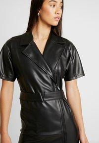 Ivyrevel - BELTED DRESS - Day dress - black - 5
