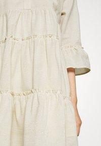 Colourful Rebel - INDY BOHO DRESS WOMEN  - Day dress - beige - 4