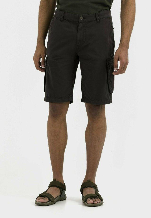 REGULAR FIT - Shorts - asphalt