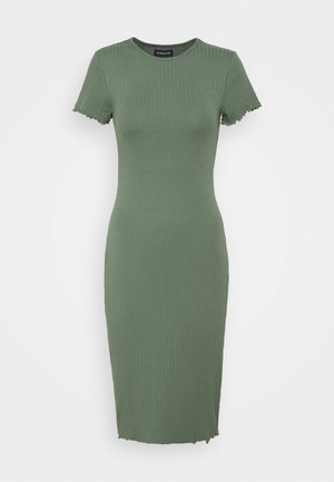 Jersey dress - dark green