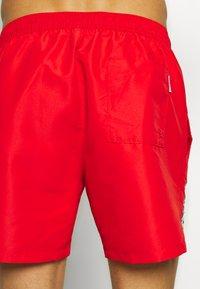Calvin Klein Swimwear - MEDIUM DRAWSTRING - Swimming shorts - red - 1